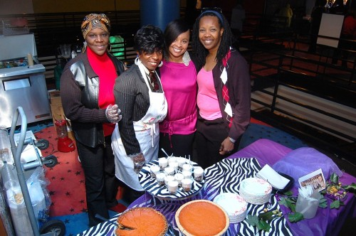 From left, Beverly Ann, Sharron Porter, Felicia Peoples and Sharron Cooper. Photo: Gina Yarbrough/San Diego County News