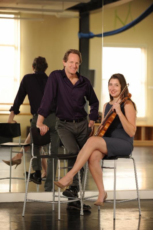 John Malashock and Kate Hatmaker. Photo by Doug Gates