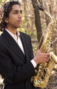 Saxophonist Ashu