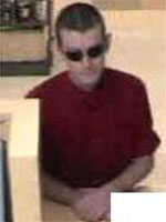 Bank robbery surveillance photographs from the U.S. Bank, located inside of the Albertsons grocery store at 8920 Fletcher Parkway, La Mesa, California, on Thursday July 2, 2015.