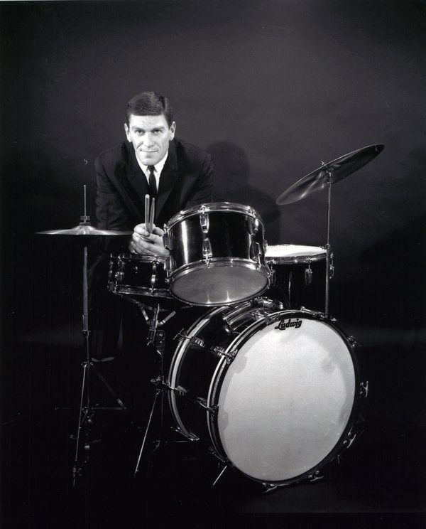 Bebop Jazz Drummer Stan Levey was the first white drummer who could really play modern music, and he was forceful, energetic, and an excellent player.