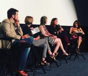 A panel of women filmmakers participate in San Diego's
